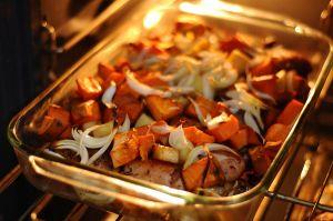 koken met oven