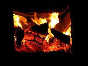 kachel vuur