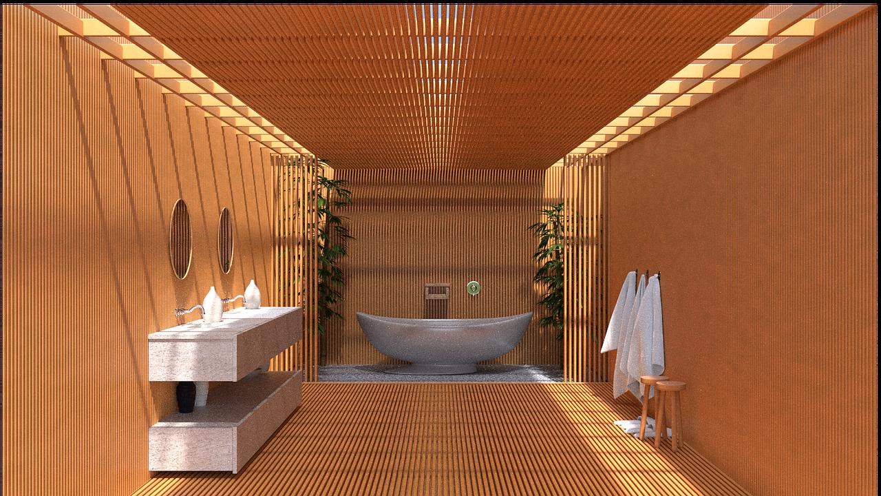 badkamer japanese stijl