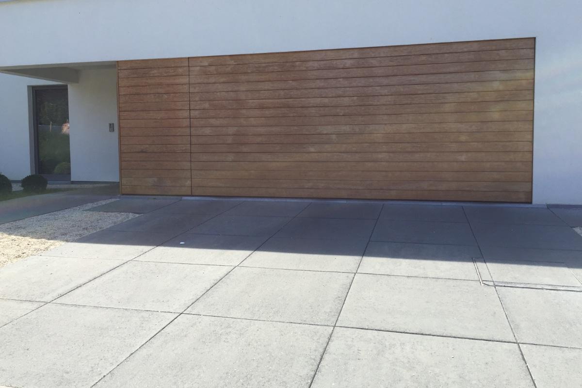 opritten betontegels