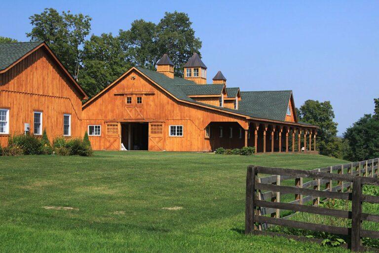 paardenstal boerderij
