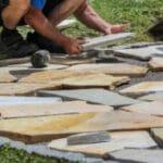 terras stenen