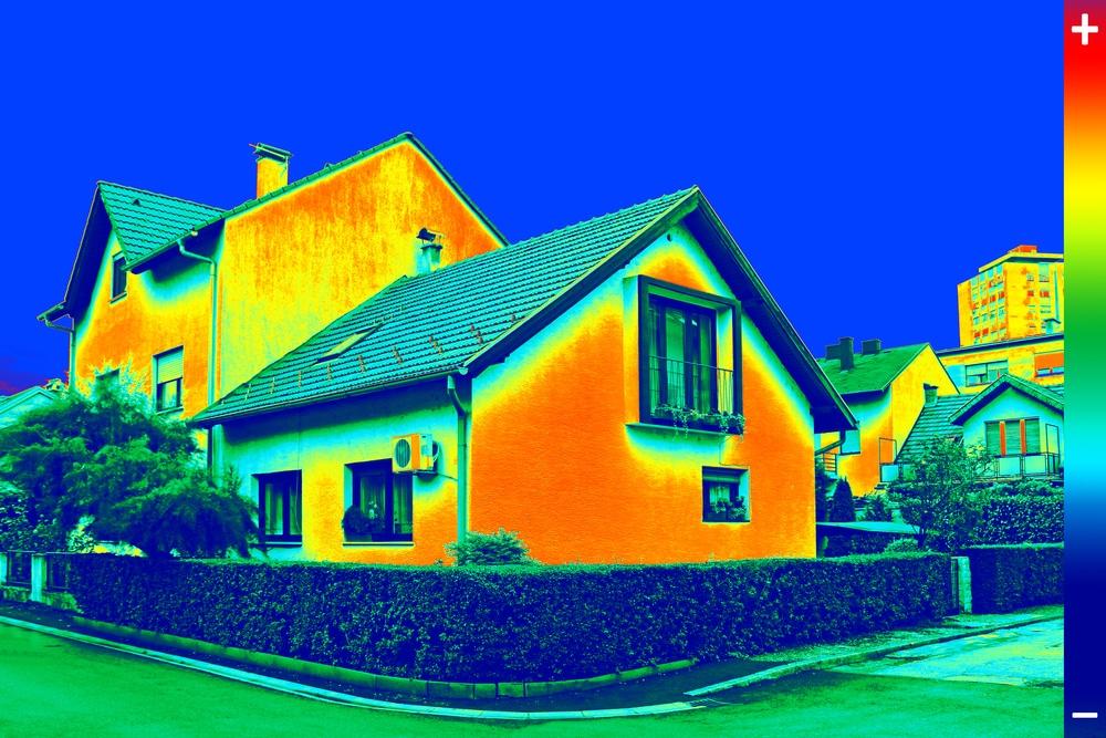 resultaat voorbeeld thermografisch onderzoek naar warmteverliezen in woning